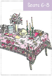 Dining Tablecloth 57x87 to 60x90